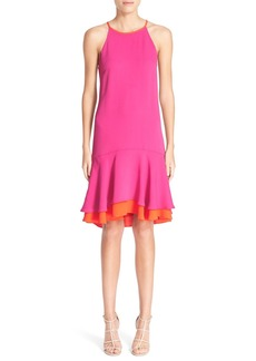 Diane von Furstenberg 'Kera' Sleeveless Crepe Drop Waist Dress
