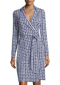 Diane von Furstenberg New Jeanne Two Printed Wrap Dress