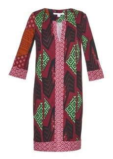 Diane Von Furstenberg Rose long dress