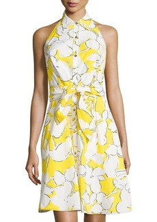 Diane von Furstenberg Tenner Floral Sleeveless Dress