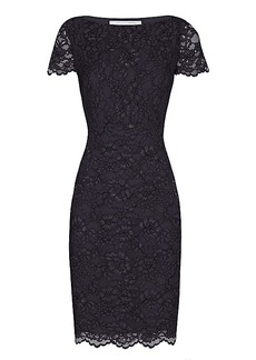 DVF Ainsley Corded Lace Dress