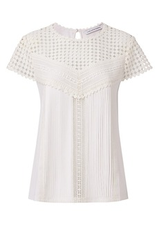 DVF Lauryn Lace Top