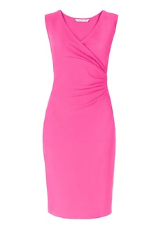 DVF Layne Ruched Sheath Dress