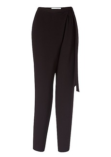 DVF Orly Crepe Wrap Pants