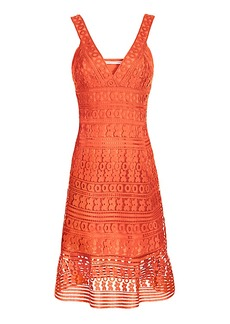 DVF Tiana Lace Tank Dress