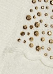 MICHAEL Michael Kors Studded fine-knit sweater