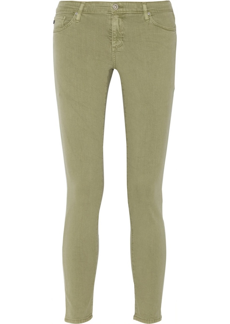 AG Adriano Goldschmied AG Jeans The Legging Ankle low-rise skinny jeans