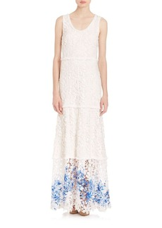 Elie Tahari Adelaide Textured Dress