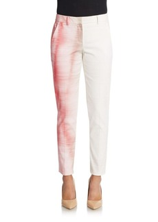 Elie Tahari Alanis Watercolor Trousers