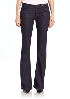 Elie Tahari Bailee Wide-Leg Denim Pants