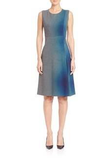 Elie Tahari Chrissy Ombré Dress
