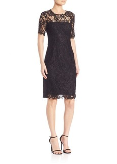 Elie Tahari Crochet Lace Bellamy Dress
