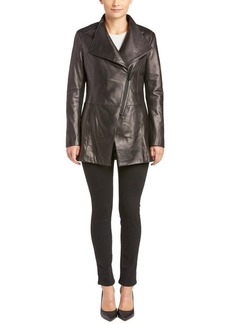 Elie Tahari Elie Tahari Claire Leather Wing ...