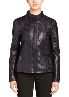Elie Tahari Elie Tahari Leather Jacket