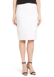 Elie Tahari 'Evelyn' Pieced Pencil Skirt