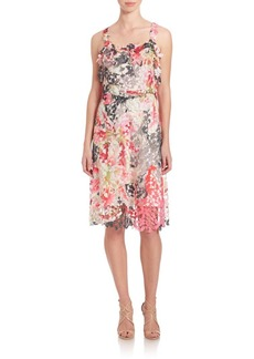 Elie Tahari Gelsie Floral Dress