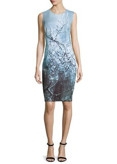 Elie Tahari Gwenyth Sleeveless Sheath Dress