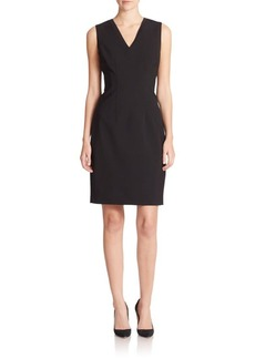 Elie Tahari Gwenyth Stretch Wool Dress