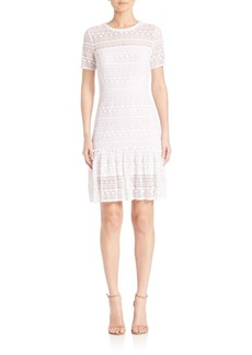 Elie Tahari Jacey Lace Dress