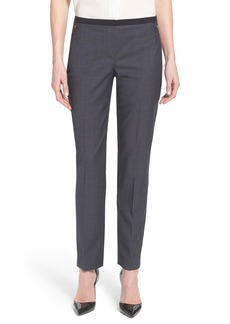 Elie Tahari 'Jillian' Slim Fit Stretch Woven Pants