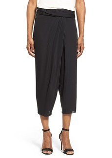 Elie Tahari 'Jody' Crop Silk Pants
