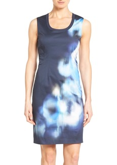 Elie Tahari 'Kelby' Digital Print Sheath Dress