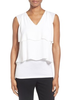 Elie Tahari 'Margarita' Tiered Silk Blouse