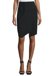 Elie Tahari Minka Wrap Pencil Skirt