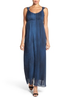 Elie Tahari 'Opal' Pleated Maxi Dress