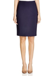 Elie Tahari Penelope Stretch Wool Pencil Skirt