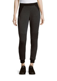 Elie Tahari Ribbed Skinny-Fit Pants