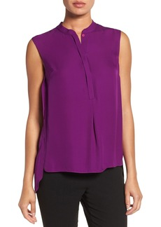 Elie Tahari 'Shereen' Sleeveless Silk Blouse