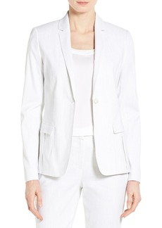 Elie Tahari 'Tova' One-Button Suit Jacket