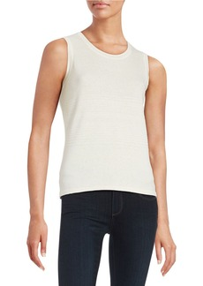 ELIE TAHARI Trudy Sleeveless Knit Top