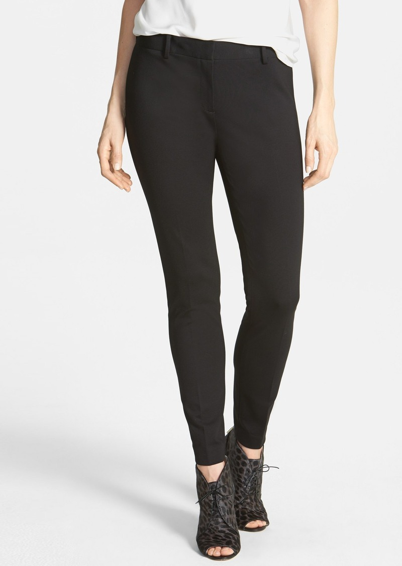 Elie Tahari 'Verda' Slim Double Knit Pants