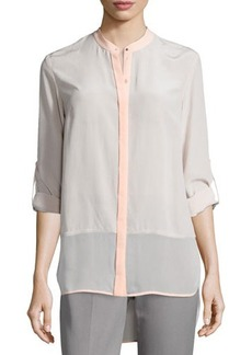 Elie Tahari Vivian Long-Sleeve Blouse