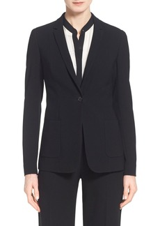 Elie Tahari 'Wendy' One-Button Jacket