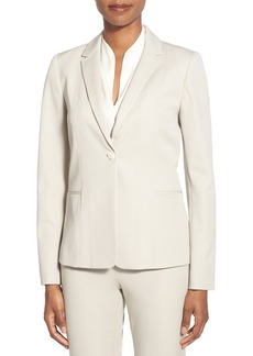 Elie Tahari 'Wendy' One-Button Suit Jacket