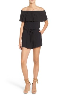 Ella Moss 'Bella' Off the Shoulder Romper