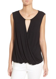 Ella Moss 'Bella' Surplice Sleeveless Top