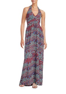 ELLA MOSS Chevron-Print Maxi Dress