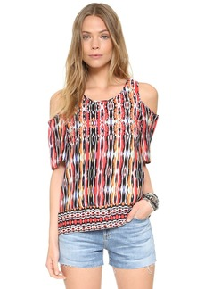Ella Moss Citra Cold Shoulder Blouse