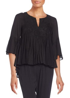 Ella Moss Desiree Peasant Blouse