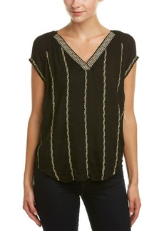 Ella Moss Ella Moss Embroidered Top