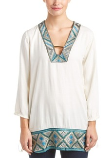 Ella Moss Ella Moss Embroidered Tunic