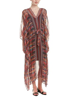 Ella Moss Ella Moss Long Silk Caftan Dress