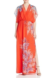 Ella Moss Floral-Printed Silk Maxi Dress