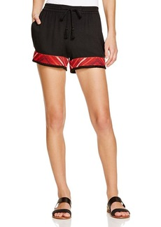Ella Moss Hani Embroidered Shorts