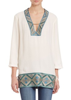 Ella Moss Hani Embroidered Tunic