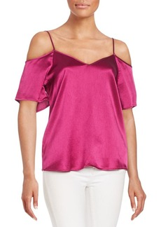 Ella Moss Izzy Cold-Shoulder Blouse